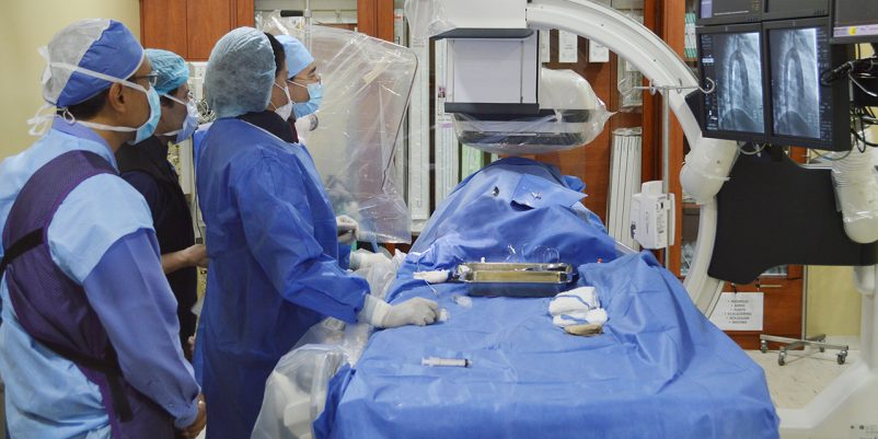 Hospital Santa Inés innova técnicas de cirugía